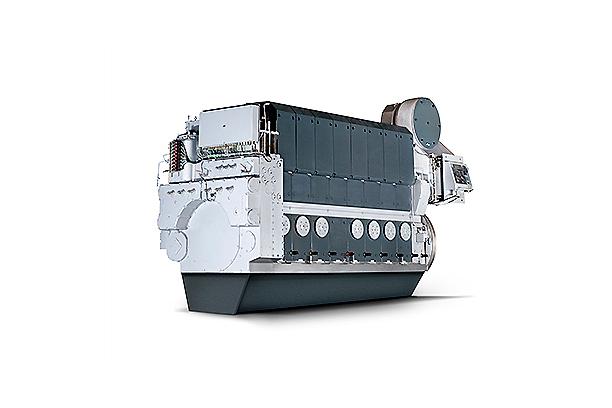 STX-MAN 중속엔진 (주기/발전기)