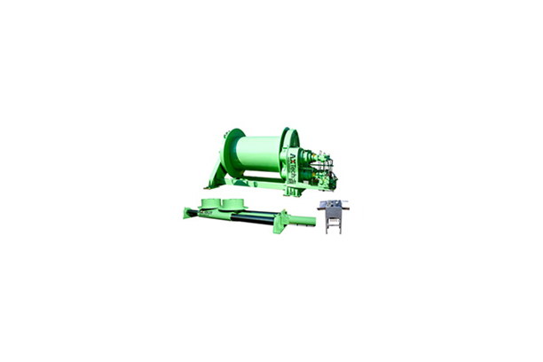 Heavy Spooling Winch Cylinder