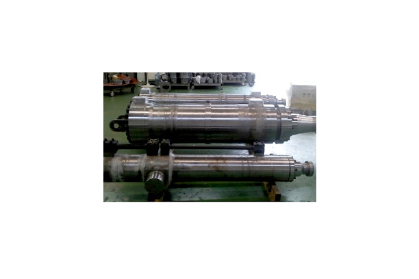 Electric power station cylinder
