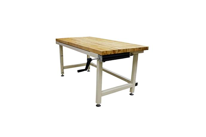 Height Adjustable Desk & Work bench