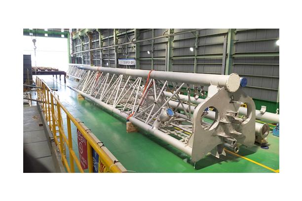 LNGC 선박용 부품제작