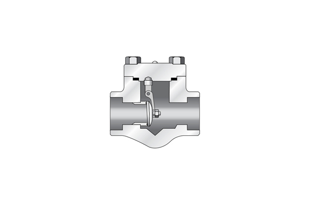 Swing Check Valve _ Forged Steel (Forged Valve)