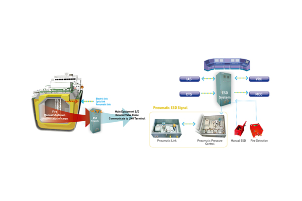 LNG ESDS, Fire & Gas detection ESDS