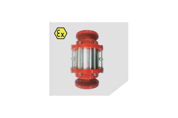 IN LINE DEFLAGRATION FLAME ARRESTER