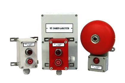 Ref. Chamber Alarm System
