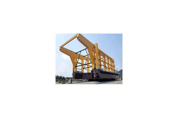 조력발전시설 설치용 Barge